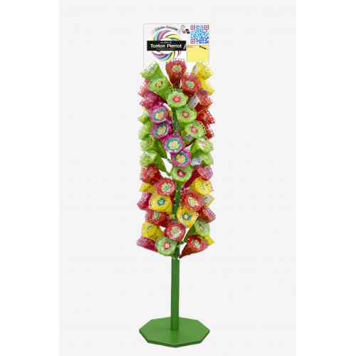 TOTEM BOUQUETS FLEUR SIMPLE 180CM PRES.TOT.FS.BOU Display stands & Totems