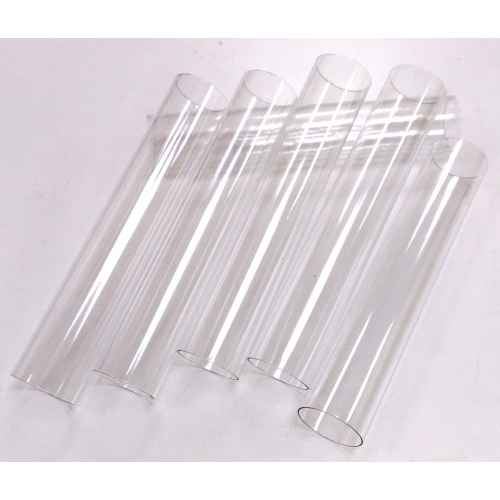 45 Transparent Columns for Cakes COL.GÂTEAUX Unbreakable plastic supports - bulk