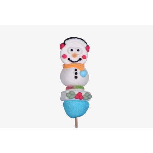 DISPLAY 40 Brochettes Snowman 55g CHA.BR.BNEIGE55 Characters