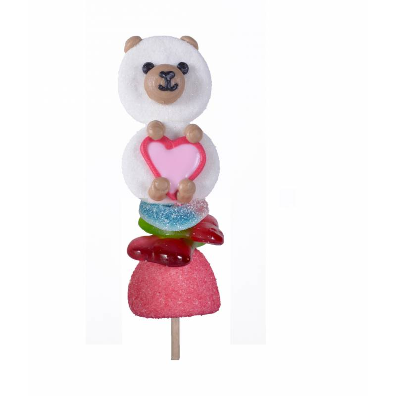 DISPLAY 40 Brochettes CandyBear 55g CHA.BR.CANDY55 Charaktere