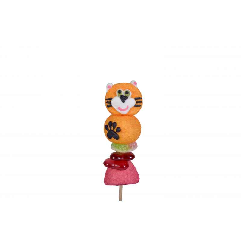 DISPLAY 40 Brochettes Cat 55g CHA.BR.CHAT55 Characters